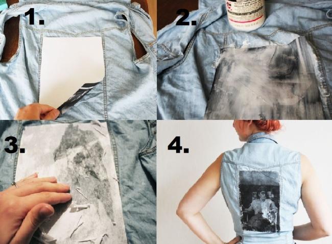 Vaše fotka na oblečení