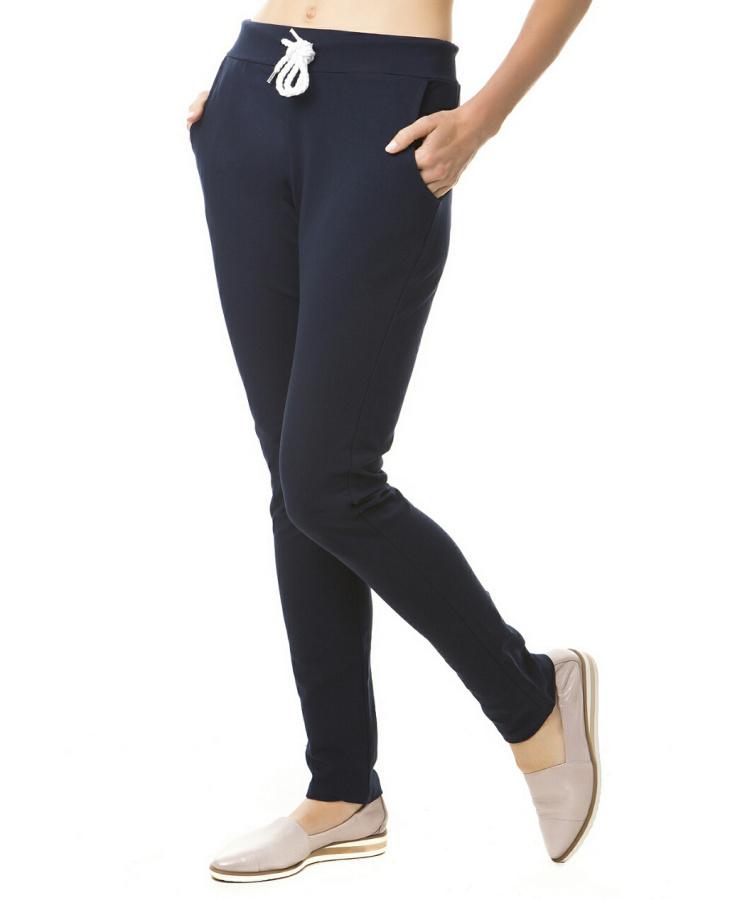 Dámské sportovní fitness kalhoty - černé - vel. L/XL