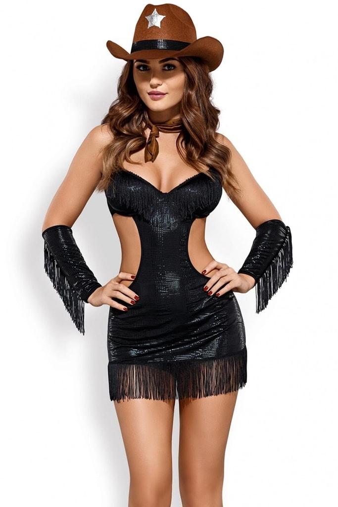 Erotický kostým šerifky - vel. S/M