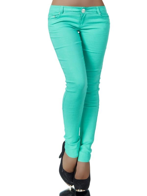 Dámské kalhoty MADONNA - zelené - vel. XS