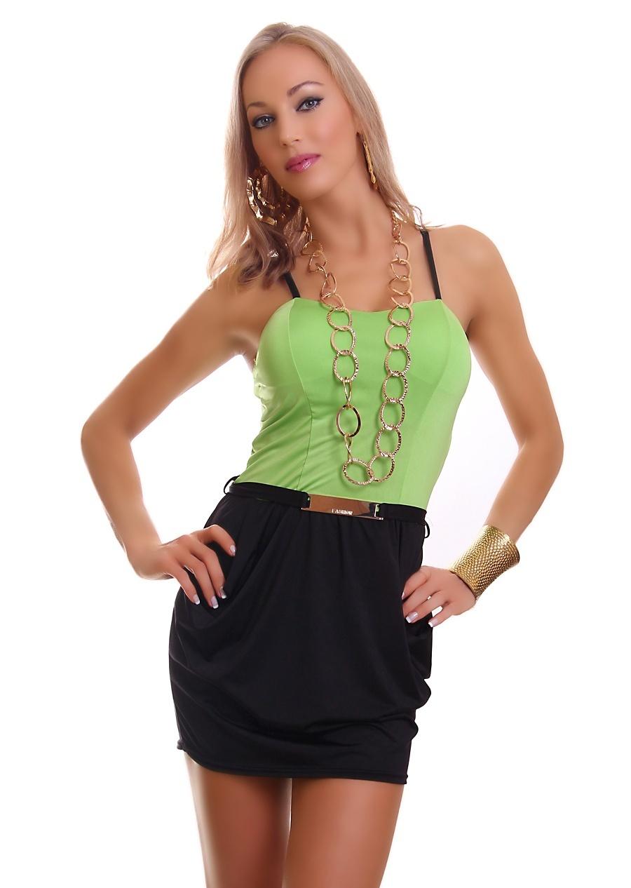 Krásné dámské mini šaty - vel. UNI