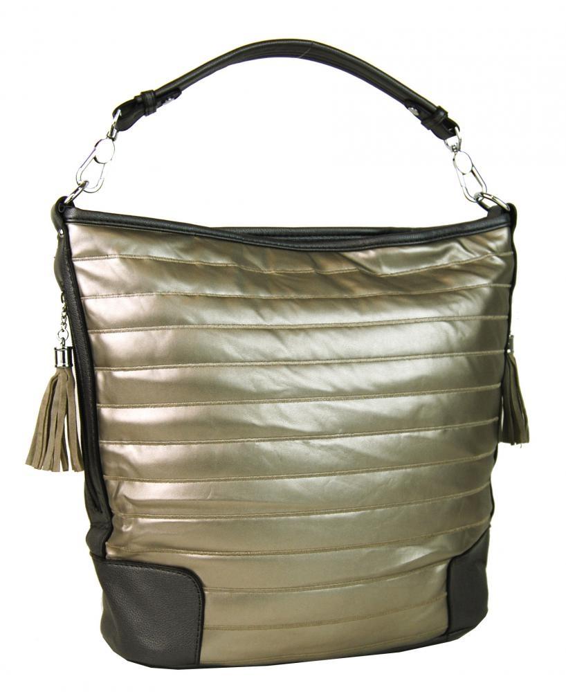 Moderní kombinovaná kabelka AA0208 - zlatá