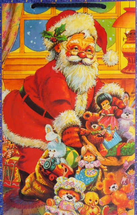 Dárková taška vánoční 2415M