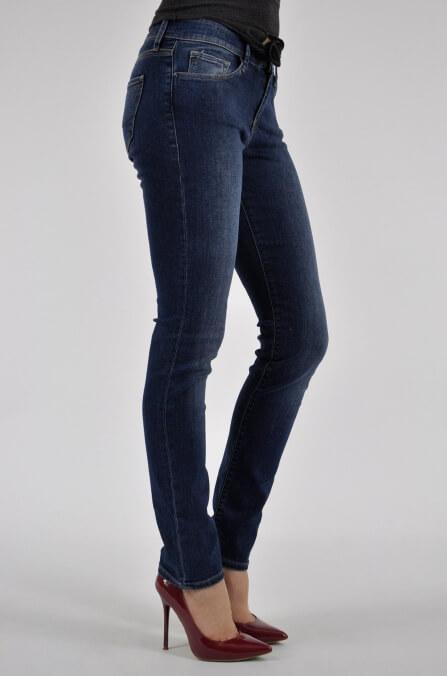 Dámské jeans zn. CROSS - Dark Blue - vel. 29