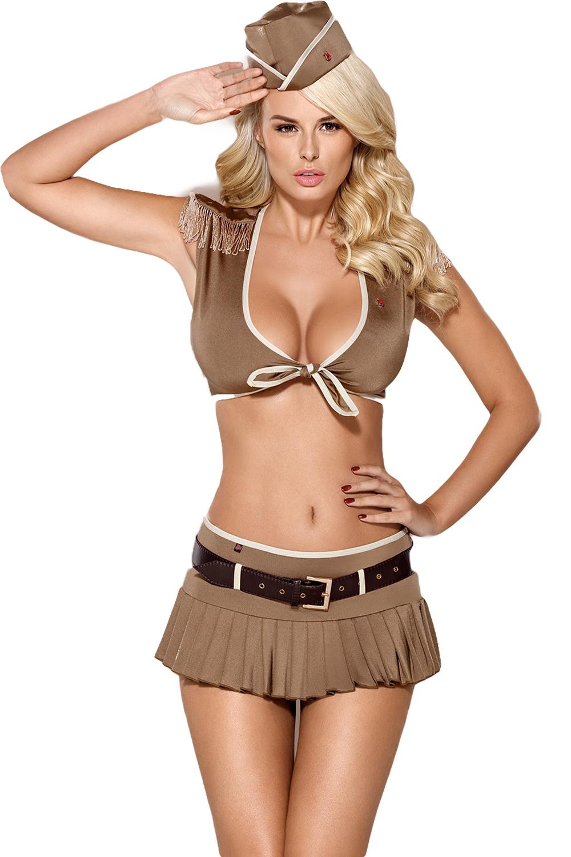 Erotický kostým vojačka - vel. S/M