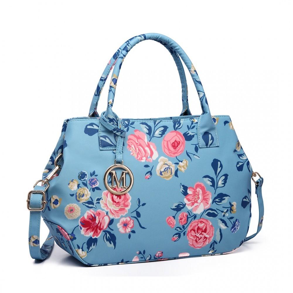 Moderní kabelka do ruky AD7302 - matná modrá
