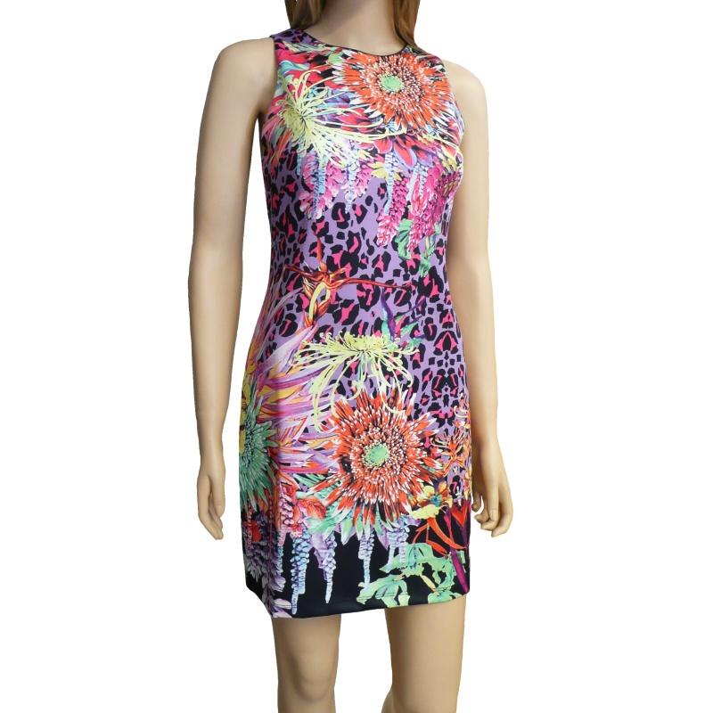 Dámské letní šaty - multicolor - vel. UNI