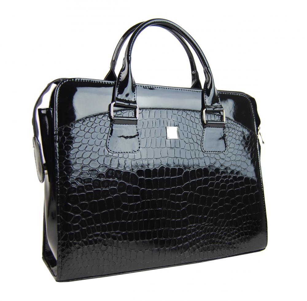 Dámská kabelka/kufřík pro notebook BA3004 - černá