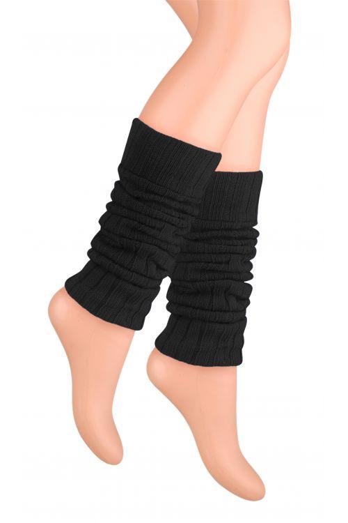 Kotníkové návleky na nohy - černé - vel. UNI
