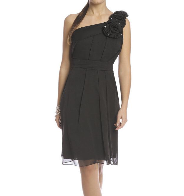 a75eb54dbd9e Popis a míry produktu. Dámské plesové společenské šaty na jedno ramínko v  černé ...