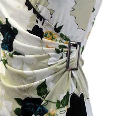 Dámské květované letní šaty Veronika - fialové - vel. L XL  a3bdbf1905