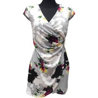 Dámské květované letní šaty Veronika - šedé - vel. L XL empty 9323085548